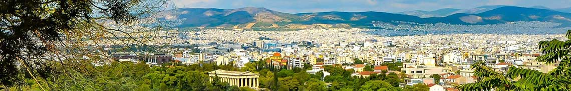 Compare the cheapest flight tickets to Athens