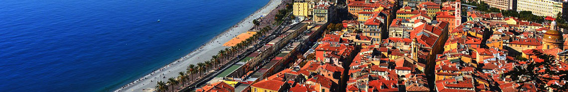 Compare the cheapest flight tickets to Nice