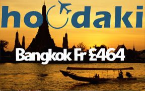 Hoodaki Flight Sale to Bangkok