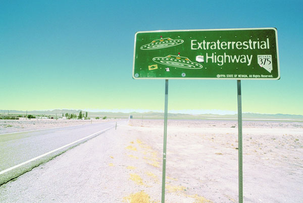 Extraterrestrial Highway in Neveda