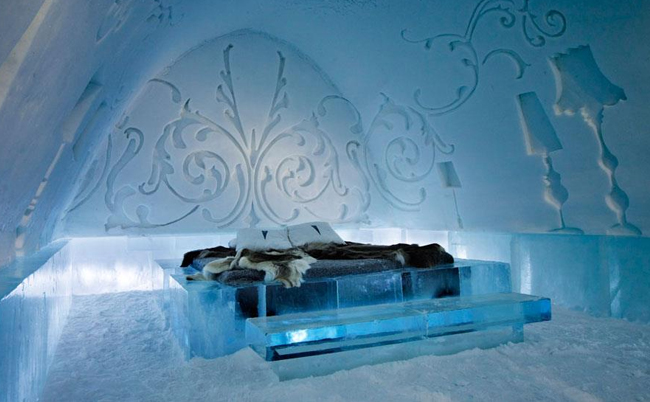 unusual-hotels-Icehotel-sweden