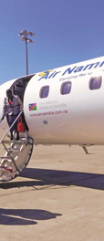 Air Namibia offers