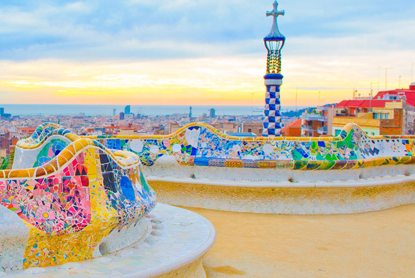 Barcelona, the city on the beach