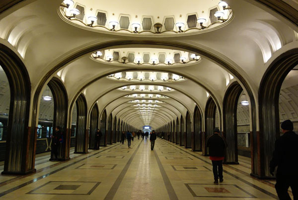 Moscow - A Much Friendlier Place to Visit